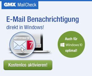 GMX MailCheck für Windows